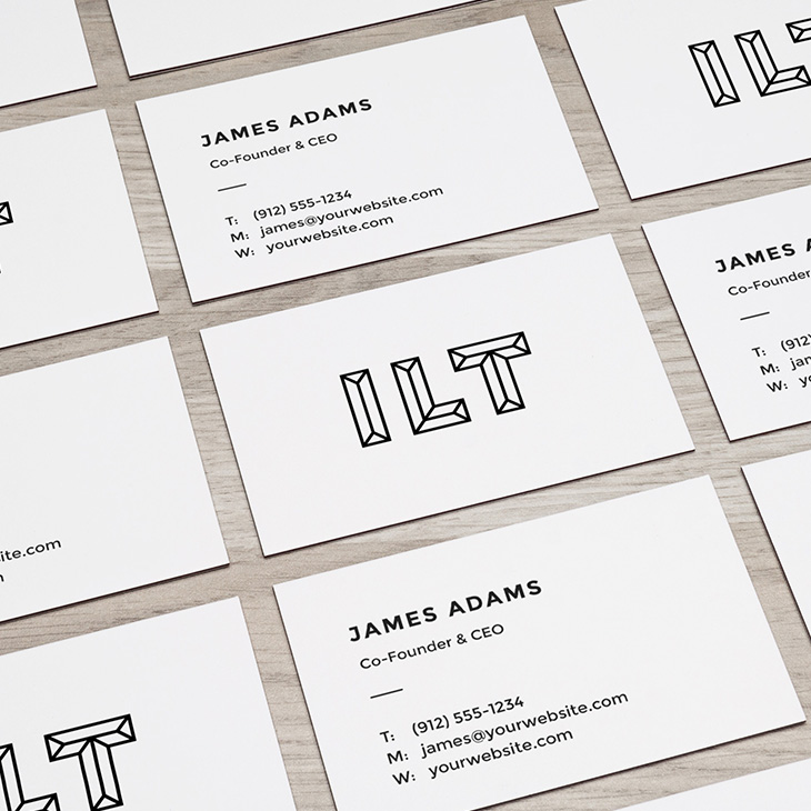 Business cards hand drawn space colourmoves
